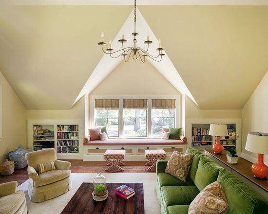Angled Walls Houzz Paint All And Ceiling Same Neutral Color Solved
