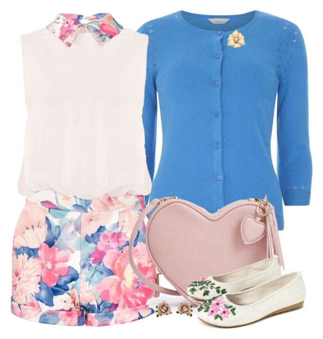"""""""Spring fling"""" by joyfulmum ❤ liked on Polyvore featuring Dorothy Perkins, Les Néréides and Rina Limor"""