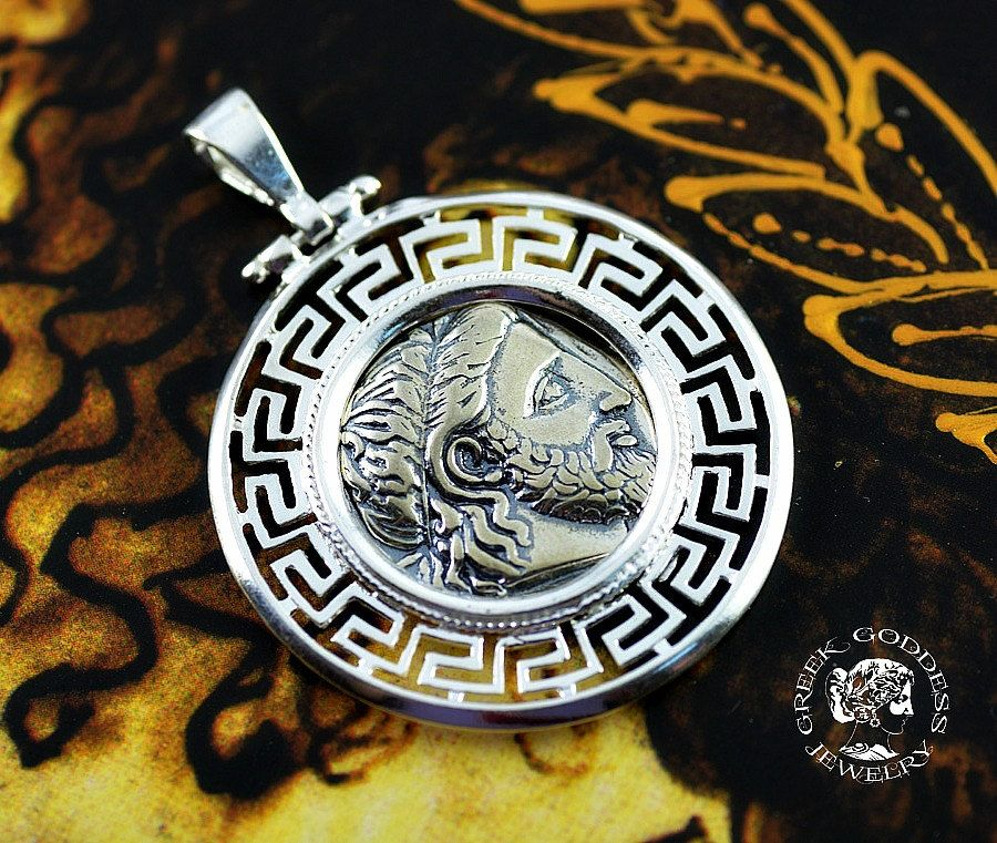 Ancient coin zeus silver pendant ancient coin pendant greek coin ancient coin zeus silver pendant ancient coin pendant greek coin pendant zeus pendant mozeypictures Gallery