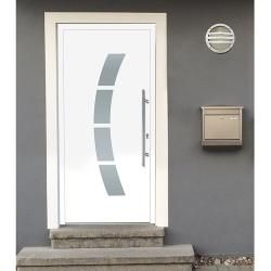 Photo of Solid Elements aluminum front door Ka-107 (110 x 210 cm, Din hinged: right) solid Elements