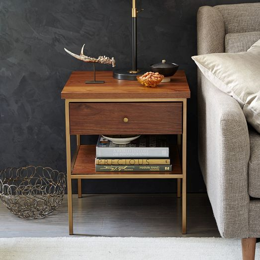 West Elm Nook Side Table Online Only 299 20 Sq X 23 5 H