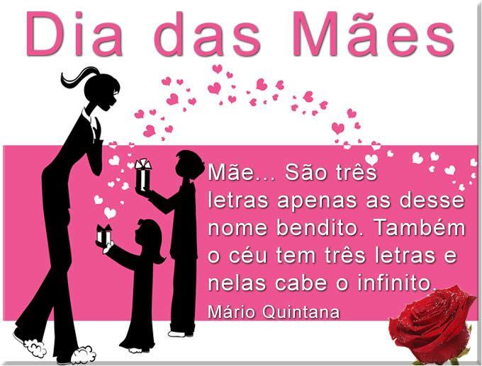 Frases Para O Dia Das Mães Mensagens Pinterest Dia Das Mães
