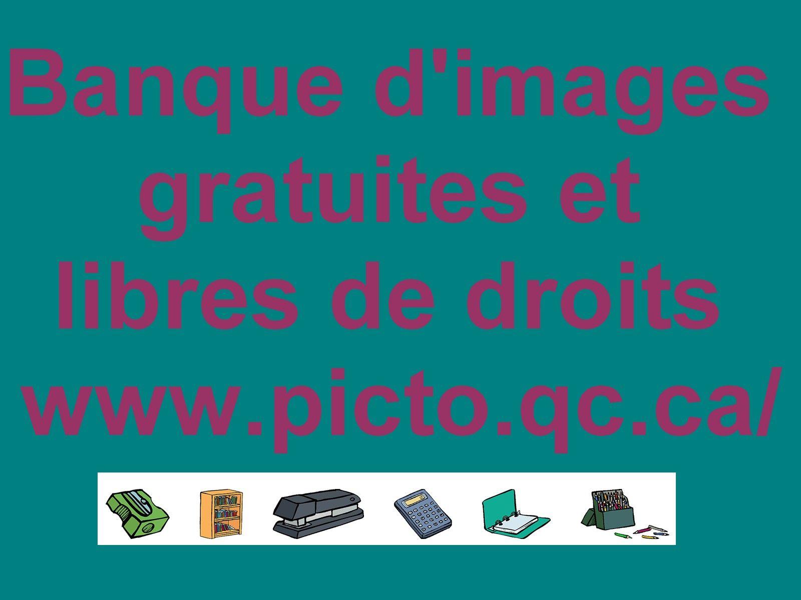 Banque D U0026 39 Images Gratuites Et Libres De Droits  Picto Qc