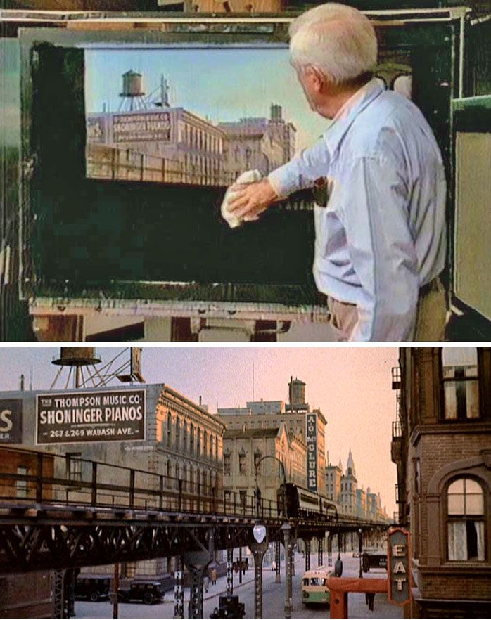 The Sting Matte Painting Pinterest Matte painting and Movie
