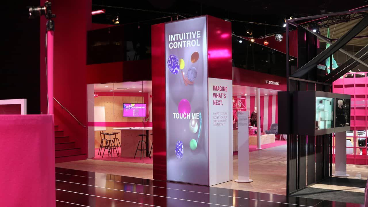 Telekom KREEK auf dem Mobile World Congress Smart