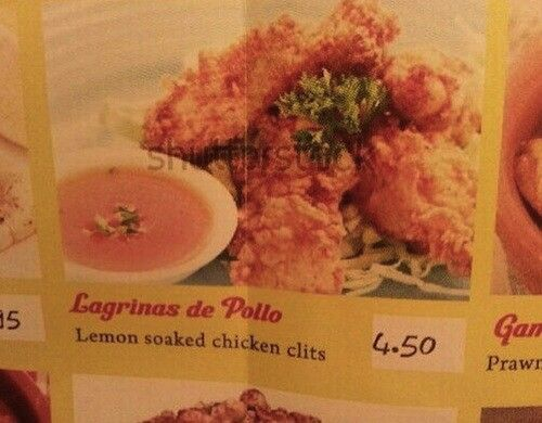 Wait, chicken what?