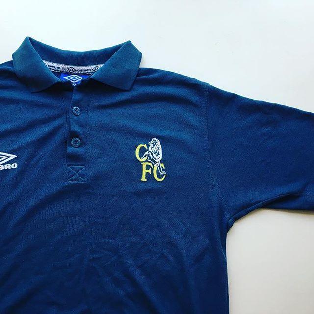 online retailer 4808a 769e1 Vintage Umbro 90s Chelsea polo shirt 🔵 - link in bio ...