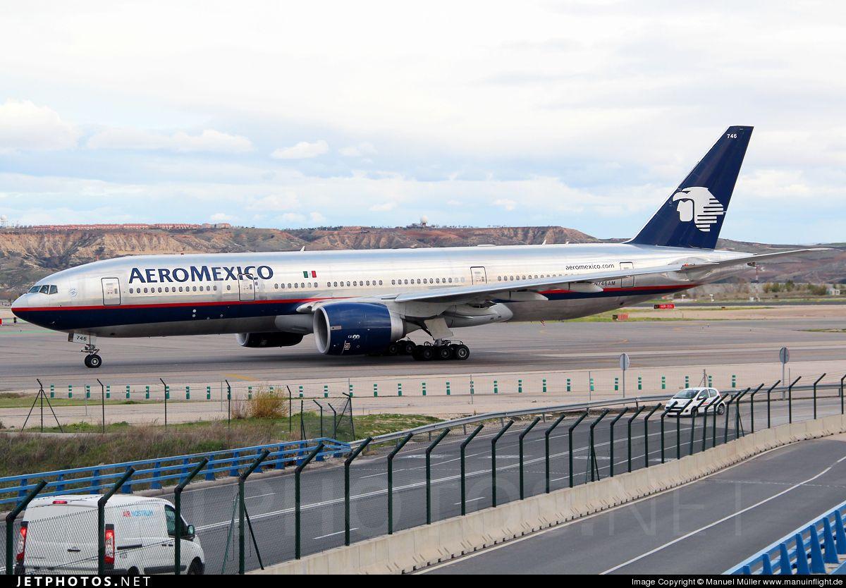Aeromexico Boeing 777200ER N746AM Madrid Barajas LEMD