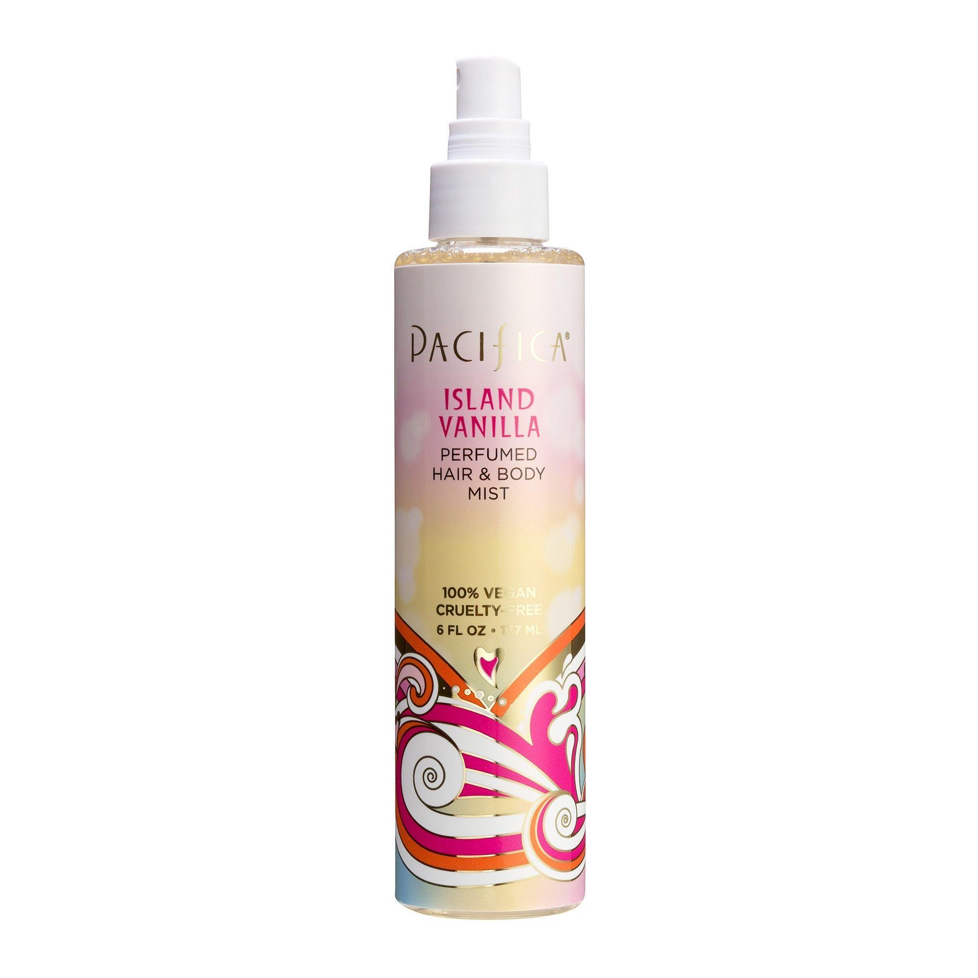 Island Vanilla by Pacifica Perfumed Hair & Body Mist Women