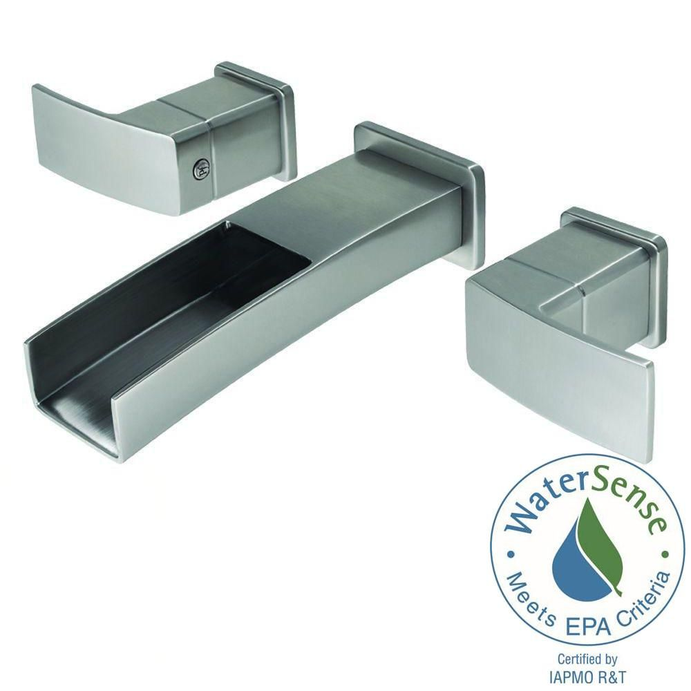 Pfister Kenzo 2 Handle Wall Mount Bathroom Faucet Trim Kit In