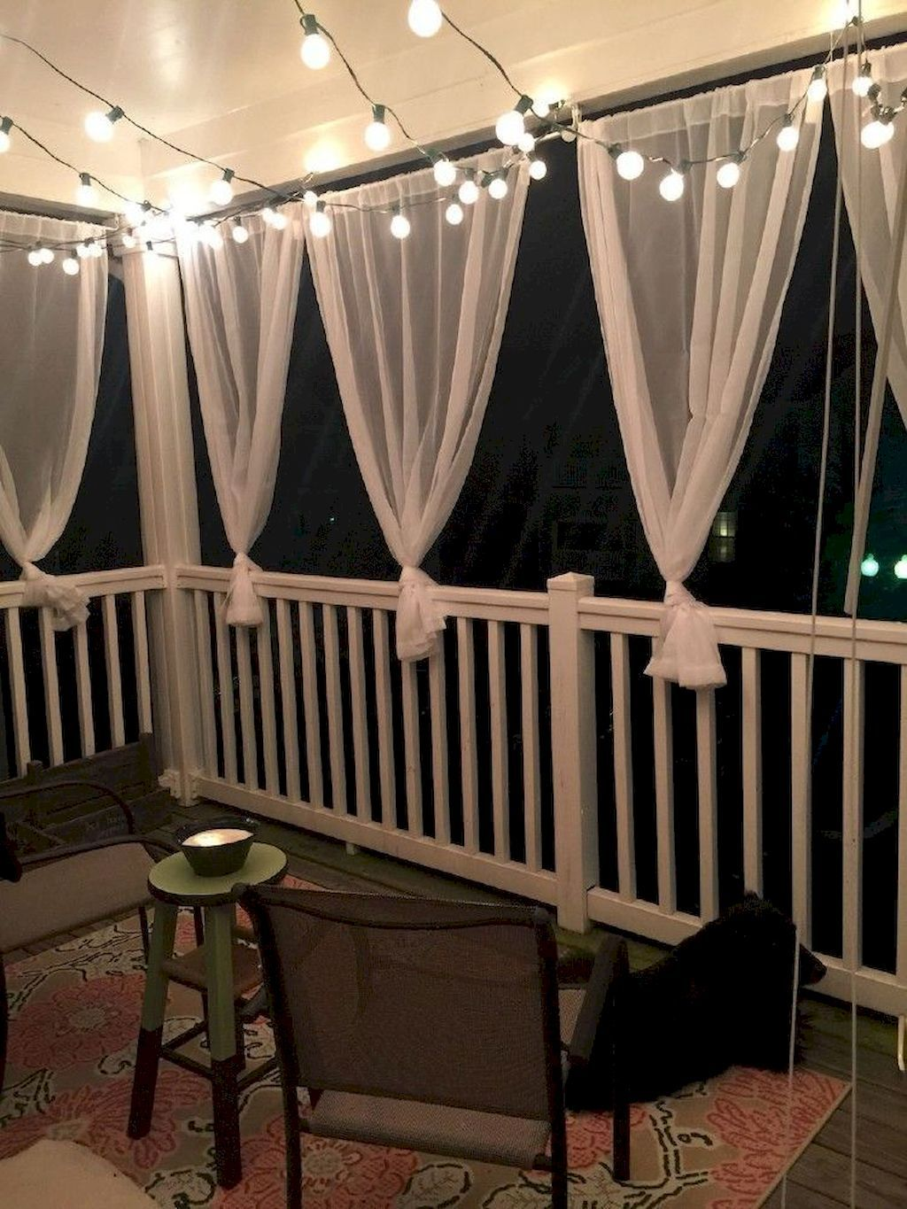 75 Cozy Apartment Balcony Decorating Ideas #apartmentbalconydecorating