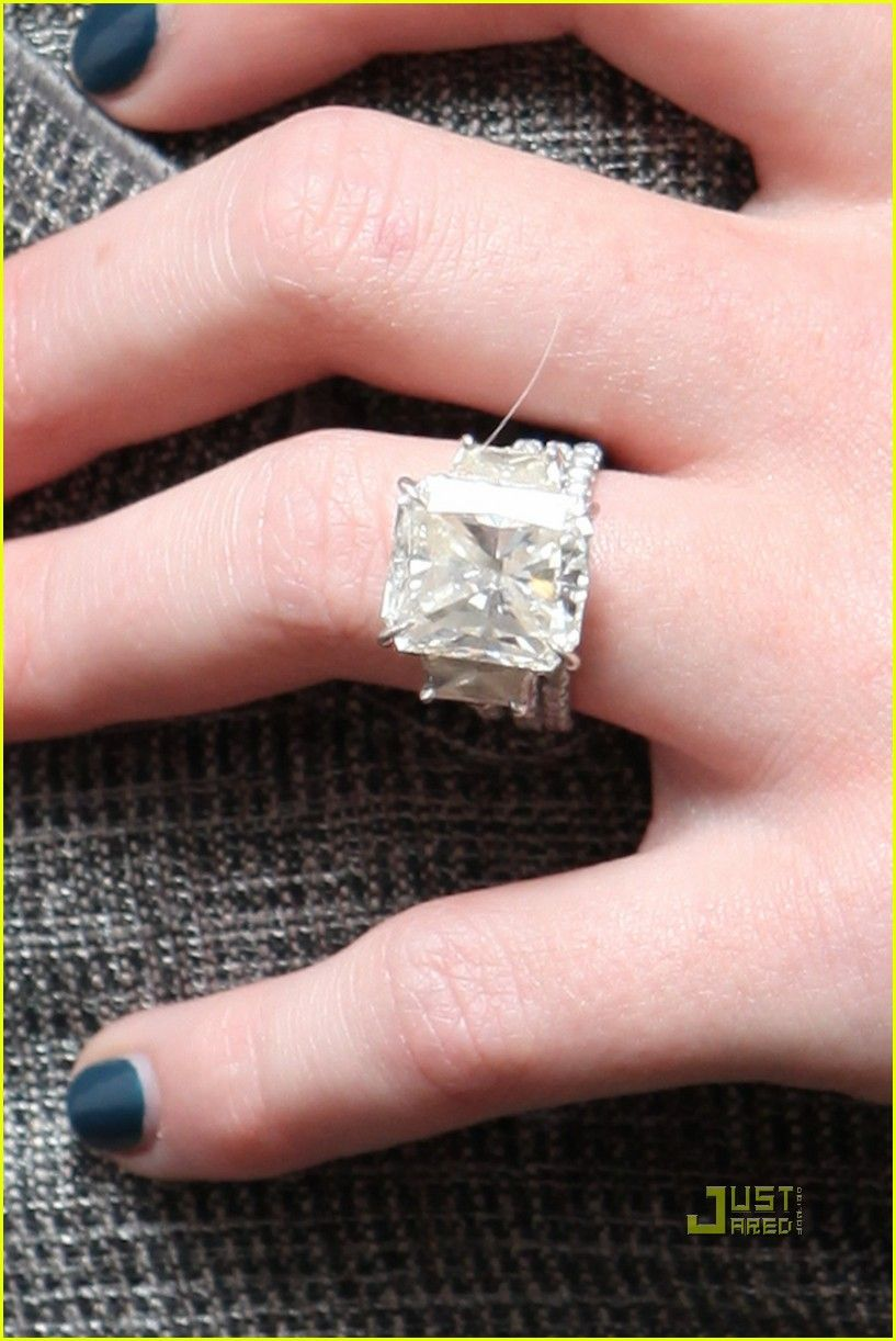 Celebrity Engagement Rings – my take | Pinterest | Radiant cut ...
