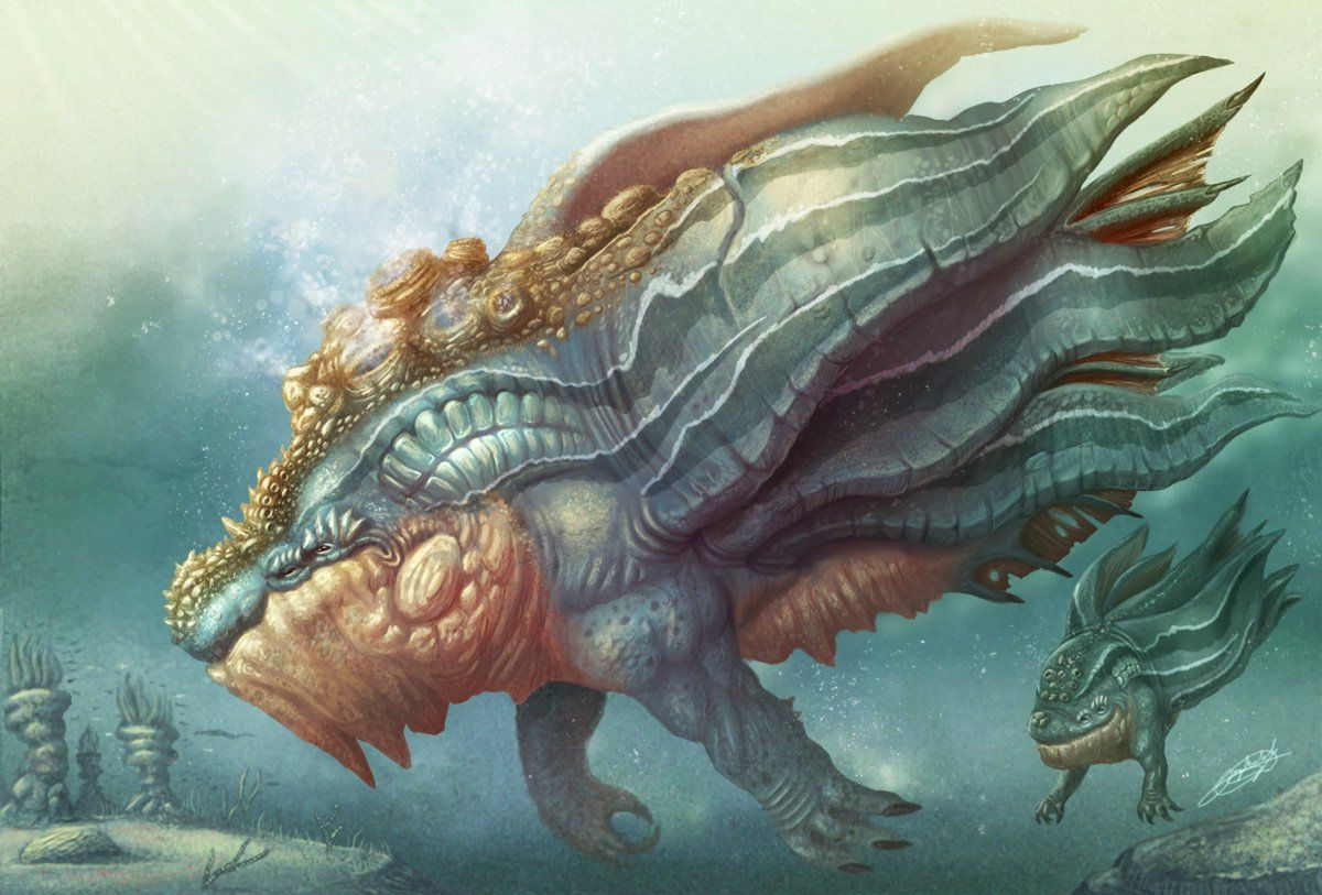 Fantasy sea monsters