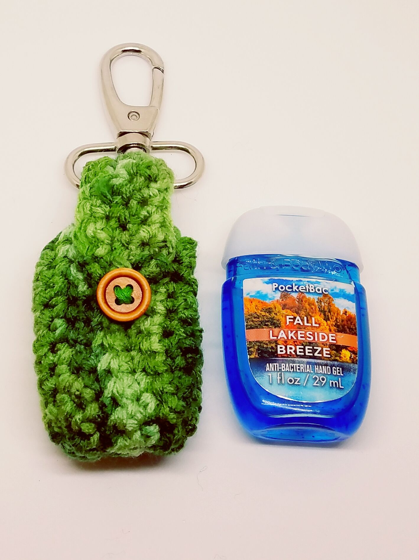 Crochet Greens St Paddy S Day Hand Sanitizer Clip Pocketbac