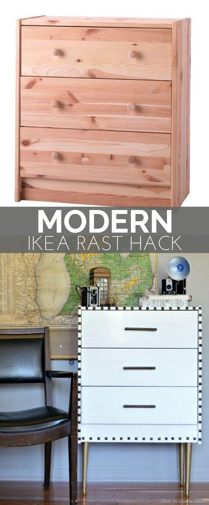 Modern Ikea Rast Hack Diy Ikea Hacks And Painted