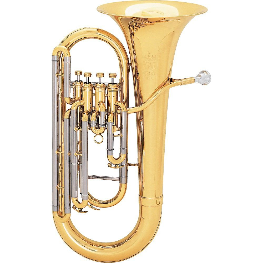 King 2280 Legend Soloist Euphonium 2280 Lacquer In 2020 Brass Musical Instruments Euphonium Musical Instruments
