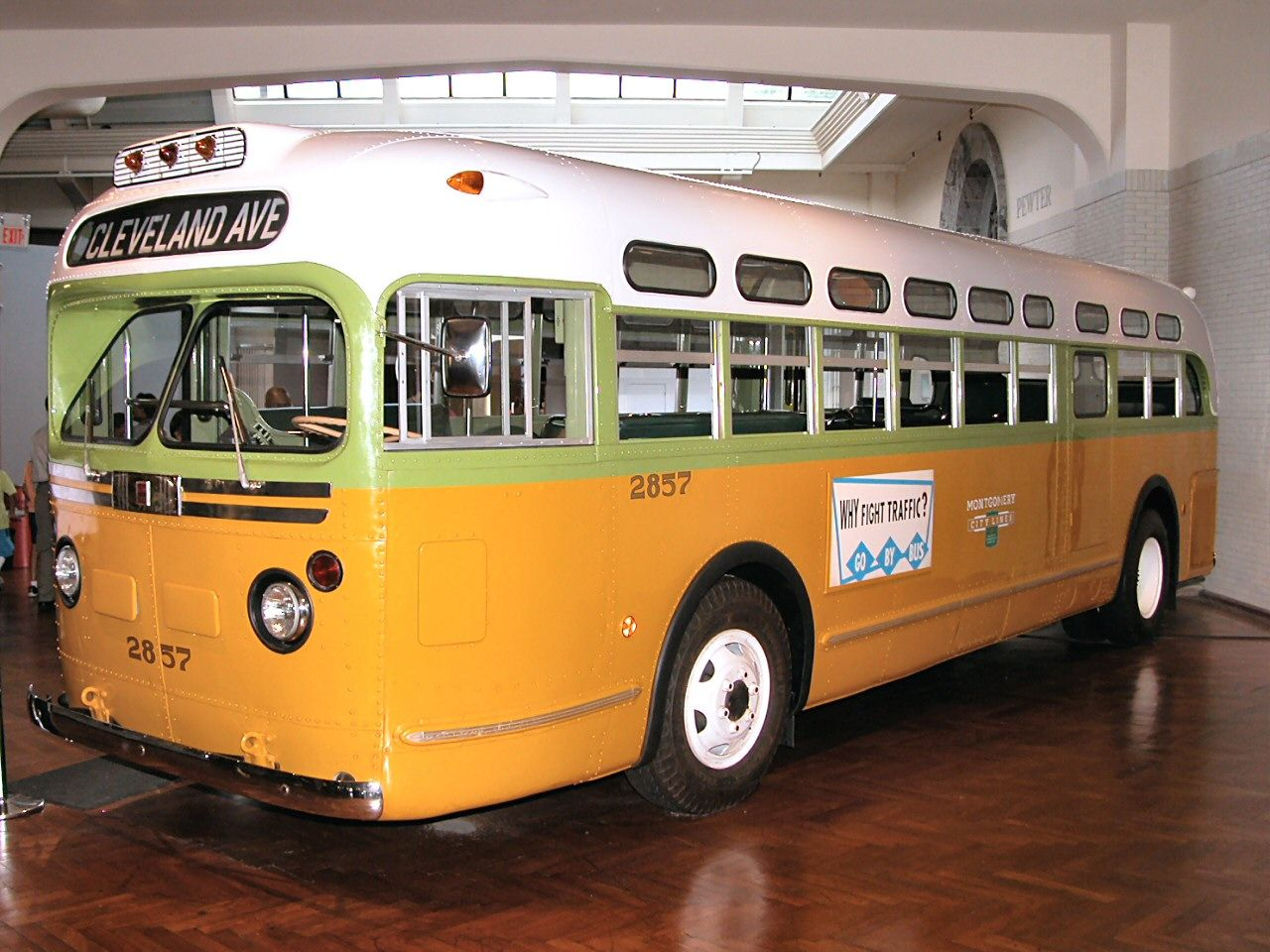 Mobili rosa ~ Gmc city bus ridden by rosa parks december montgomery