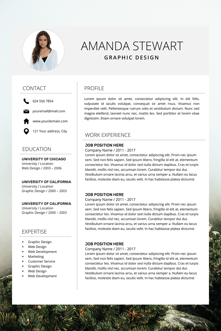 Resume Template Cv Template Professional Resume Resume Etsy In 2020 Resume Template Professional Cv Template Professional Resume Design Template