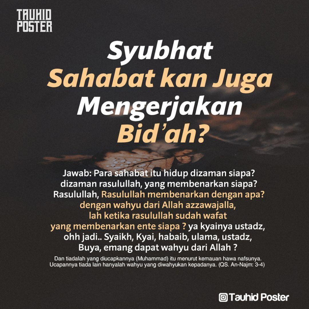 Pin Oleh Tauhid Poster Di Sebar Faedah 2 Qur An Bijak