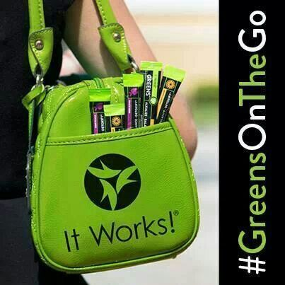 #Greens #Greensonthego #ItWorks Michelle It Works Independent Distributor www.igotwraps.com michelle@igotwraps.com
