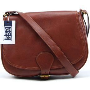 fb6c89d50a50 Sacs Femme Sacs Bandoulière Oh My Bag Sac à main cuir femme - Modèle  Vintage marron moyen MARRON MOYEN