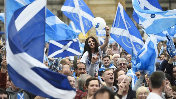 Pro-independence Scots launch new '45%' campaign - RT #Independence, #Scotland