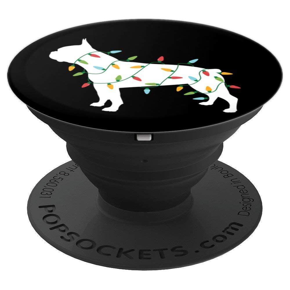 Boston terrier popsockets boston terrier christmas