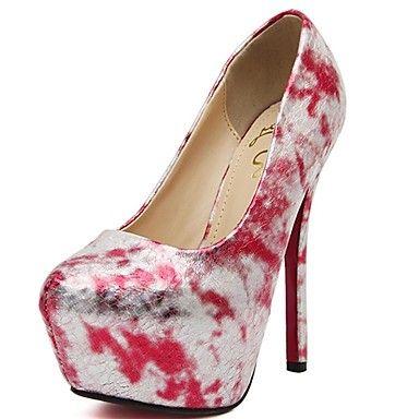 Bombas calcanhar sapatos plataforma stiletto das mulheres sapatos mais cores disponíveis – BRL R$ 153,87