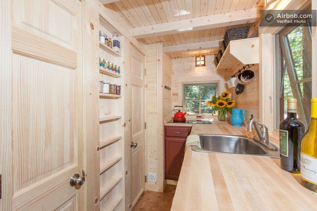 Tumbleweed Linden Tiny House Living Rooms For Rent