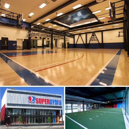 """Indoor Basketball Gym   Our Amazing Basketball Gym - """"The nicest gym in the country!"""""""