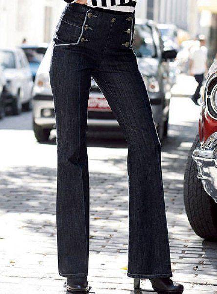 pantalon pont femme recherche google tenue copier pinterest pantalons ponts et. Black Bedroom Furniture Sets. Home Design Ideas