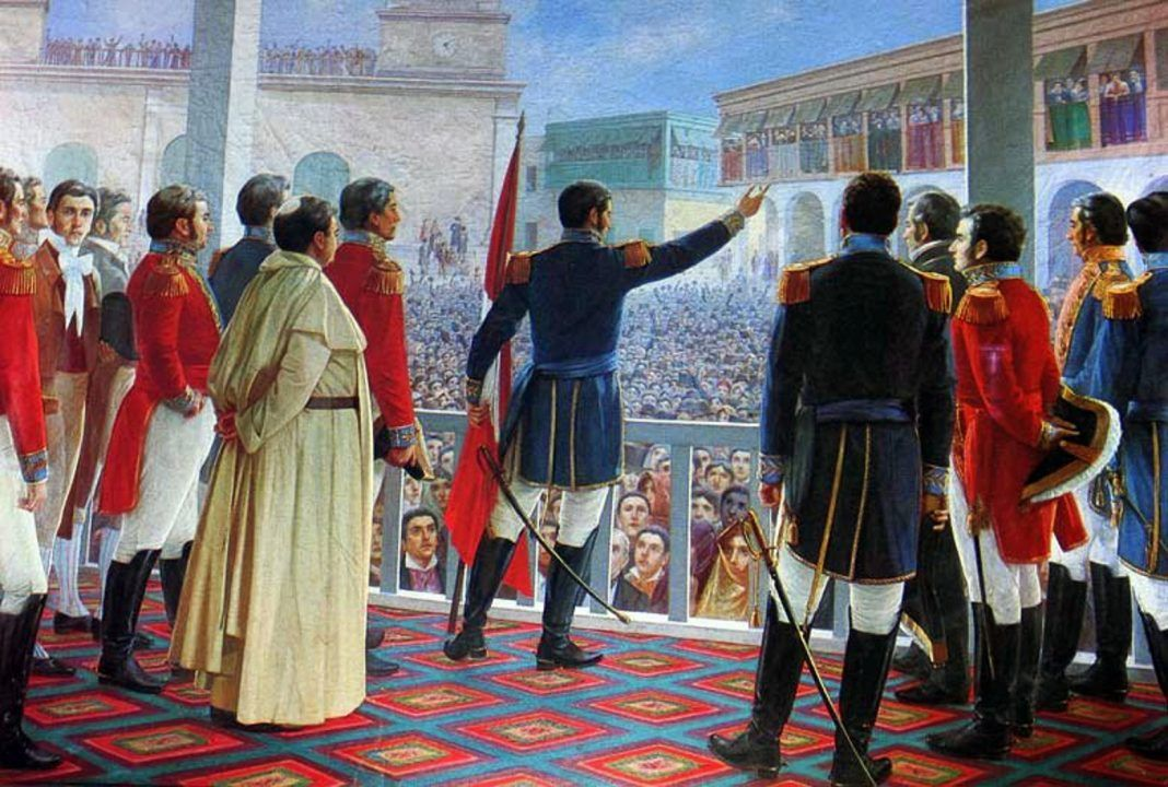 La independencia del Perú Legis.pe Jose de san martin