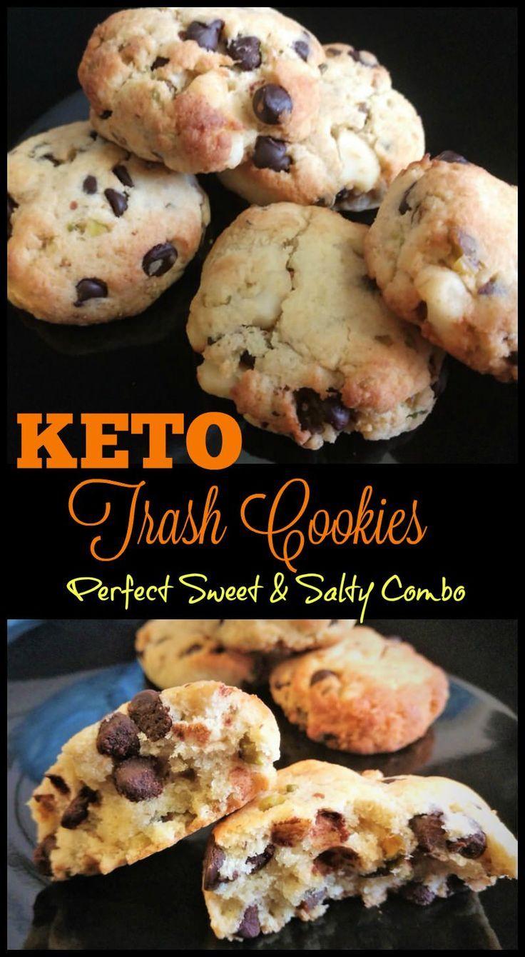 Keto Trash Cookies #dessertrecipes