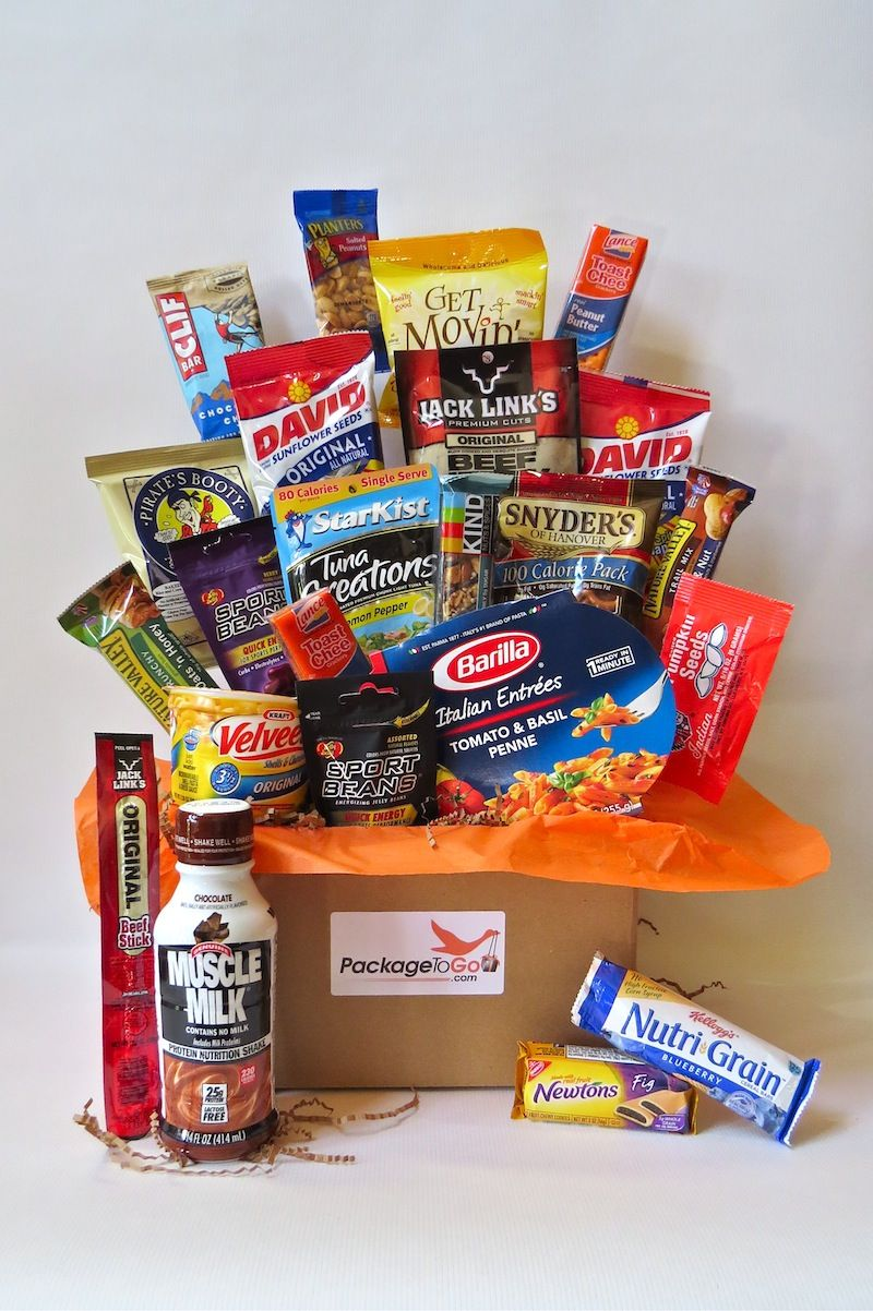 Great College Care Package For Athletes College Care