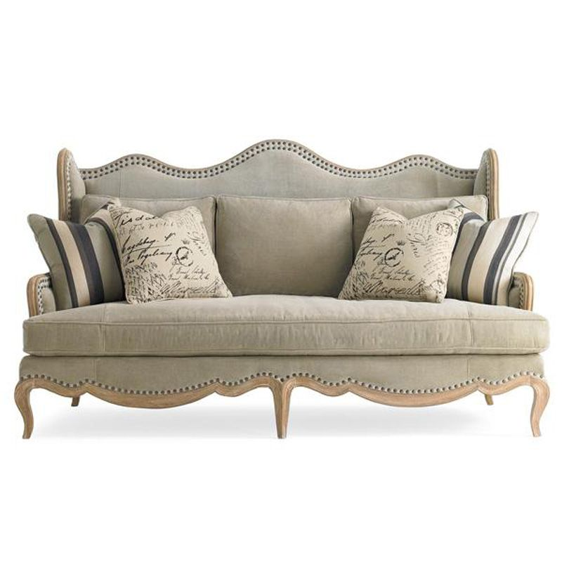 Designer Discount Furniture: Caracole Uph-sofcav-10A Caracole Upholstery Curve Your
