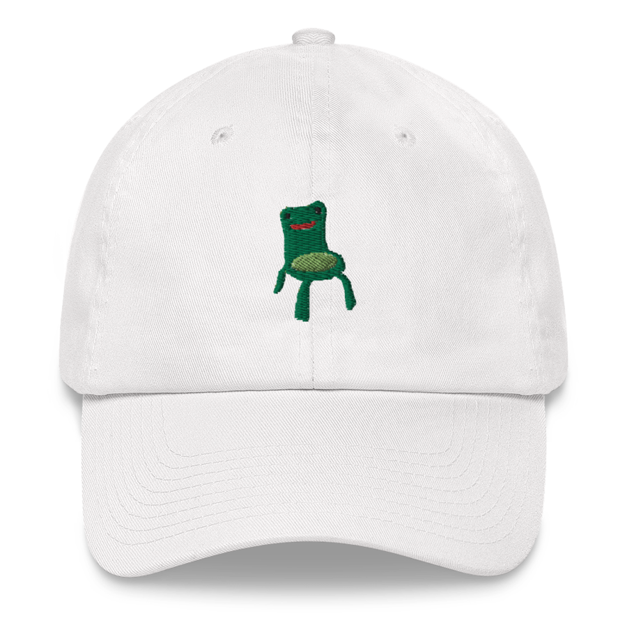 Froggy Chair Hat in 2020 Poodle hat, Baseball hats, Dog