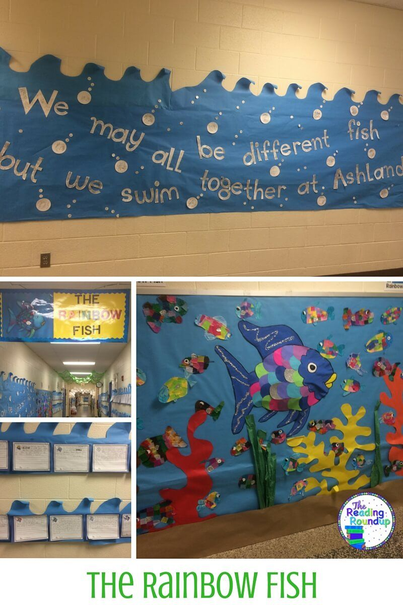 Children' Books Bulletin Board Ideas Ocean Rainbow