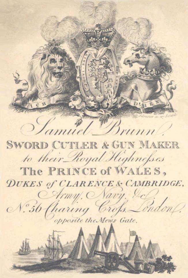 Georgian Gentleman -- Samuel Brunn: An Exceptional Sword Cutler and ...