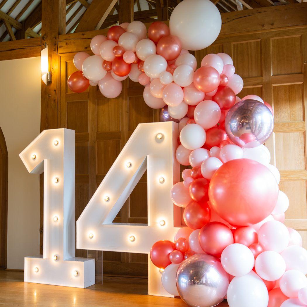 Balloon Garland 14th Birthday Party Ideas 15th Birthday Party Ideas Birthday Party For Teens