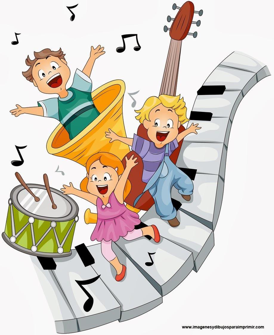 Aprende Cantando Music For Kids Cartoon Kids Music Clipart
