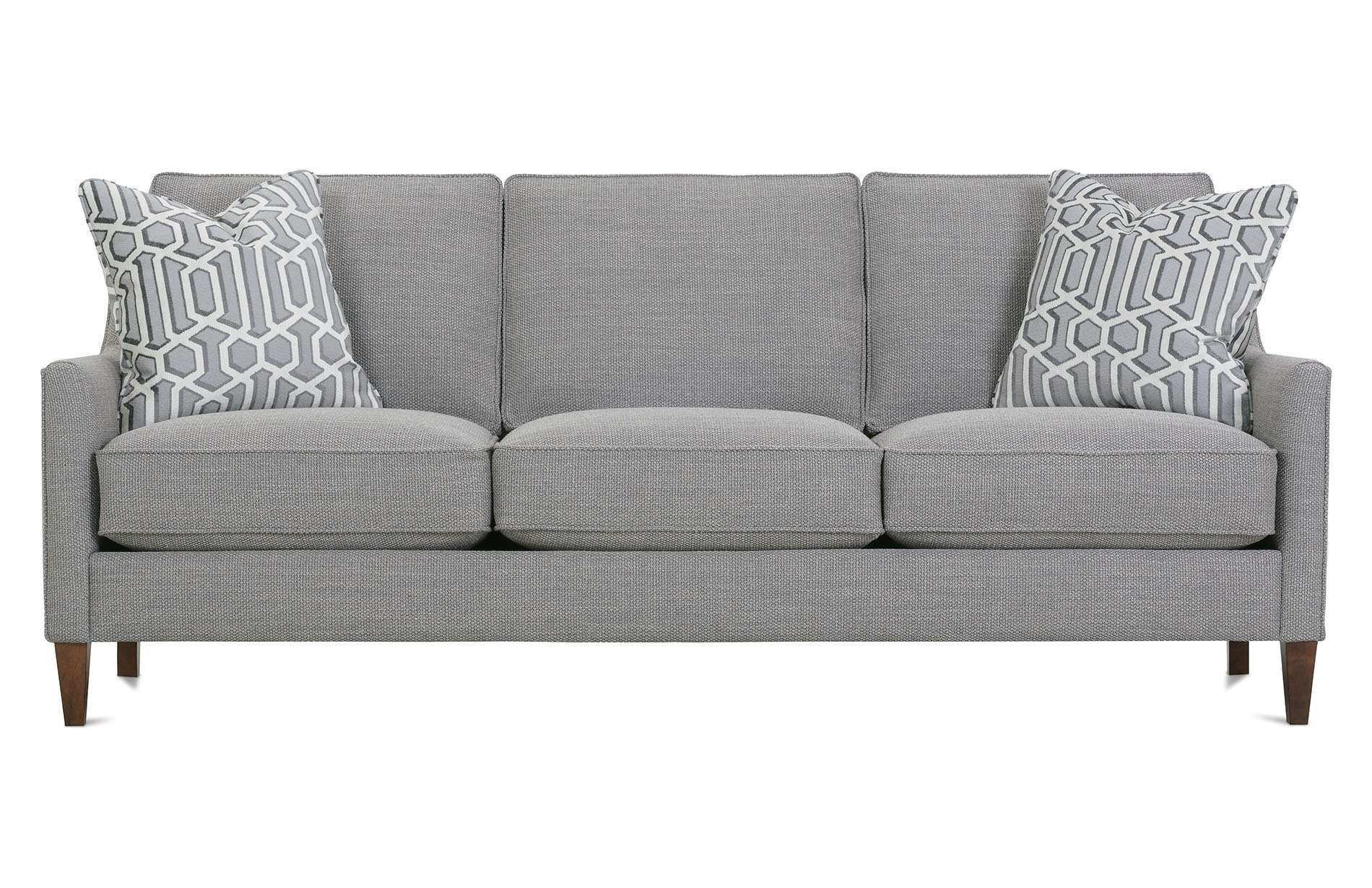Dalton Sofa Bed Cheap White Chairs Andee P390 002 Rowe Furniture Color Story Stormy
