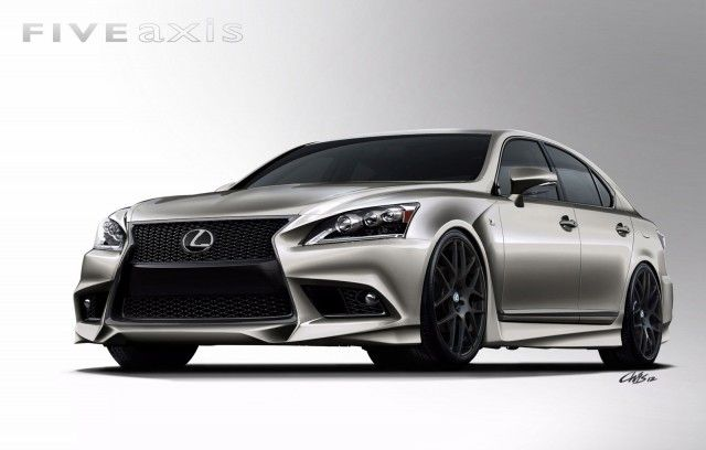Wonderful 2013 Lexus LS 460 F Sport By Five Axis Heads To SEMA Show