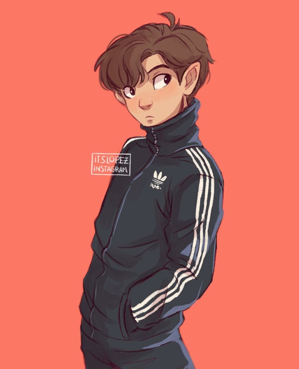 Adidas Jacket Drawing With Images Cute Art Art Inspiration
