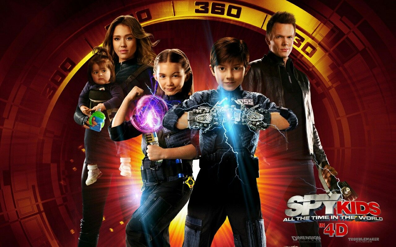 Pin By Chloee On Spy Kids All The Time In The World Cecil Wilson Rebecca Wilson Spy Baby Spy Kids Spy Kids 4 Spy Kids Movie