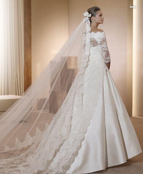 foto 27 de 34) vestidos de novia pronovias 2011. modelo iman