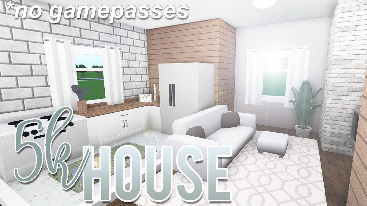 Roblox Bloxburg 5k House No Gamepass Design Petite Maison Dispositions De Maison Plan Maison