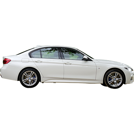 White Car Side View Png