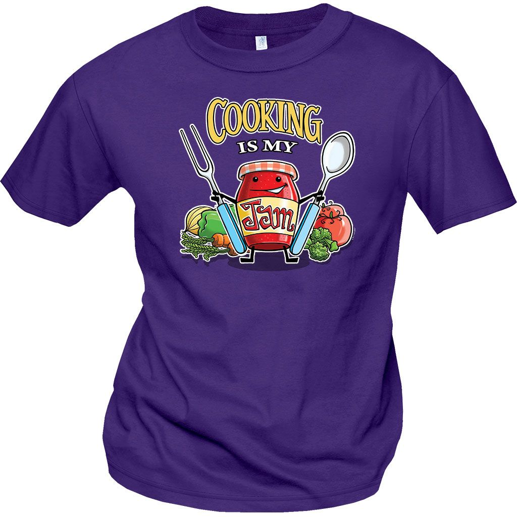 ce2a4f66 Cooking is my Jam!! New shirts for Cafeteria Workers available now for  School Lunch