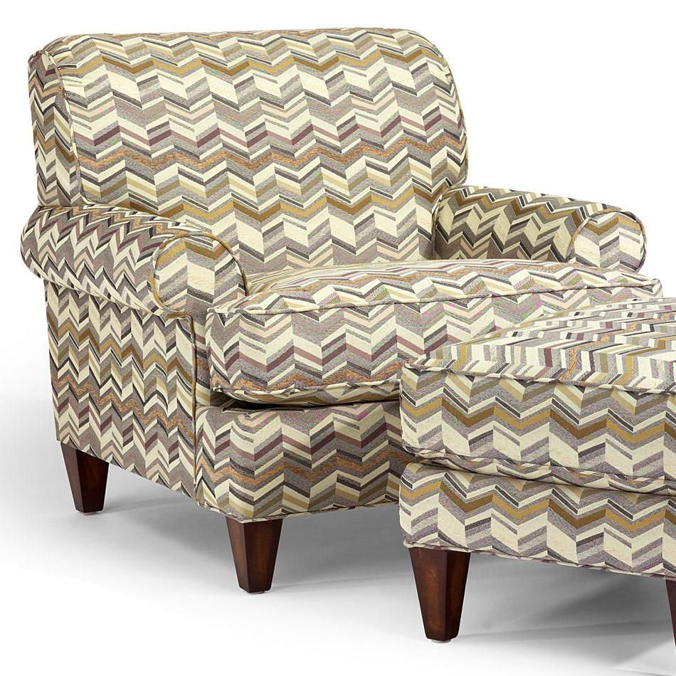38 in wide chair in a variety of fabric choices from Hudson\'s ...