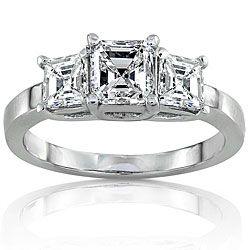 asscher diamond past present and future ring Asscher Diamond